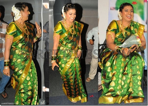 Roja_Green_Traditional_Saree