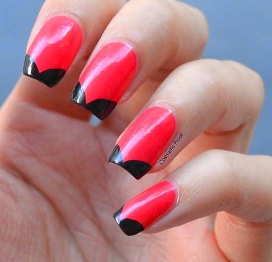 Revlon Gel Envy Nail Art French Manicure with Pocket Aces and Blackjack
