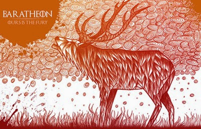Game of Thrones House Baratheon by O'lee Graphiste