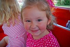 Rylee train zoo