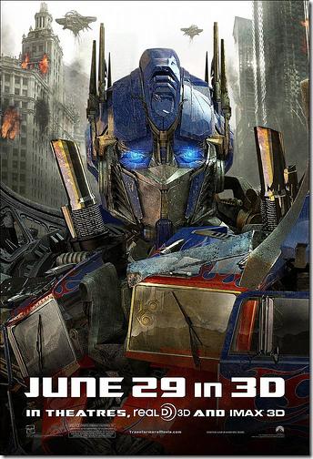 Transformers 3 กลับมาฉายอีกครั้งในโรง IMAX ที่สหรัฐอเมริกา