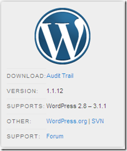 WordPress Plugins For Multi  Author Blog - Audit Trail
