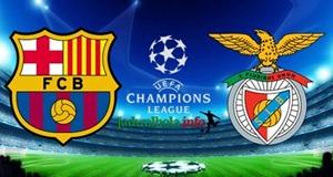 Prediksi Barcelona vs Benfica Liga Champions