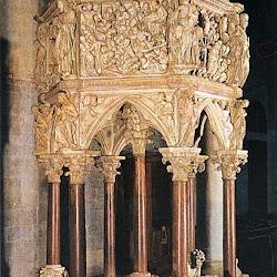 79 - Giovanni Pisano - Pulpito Catedral Siena