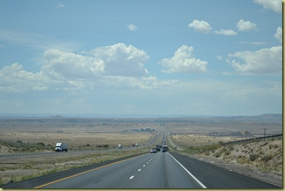 Long Straight Road West from Albaquerque