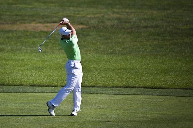 Sergio Garcia at 2011 US Open