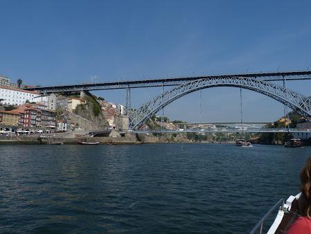 Obiective turistice Porto: pod centru Luis I
