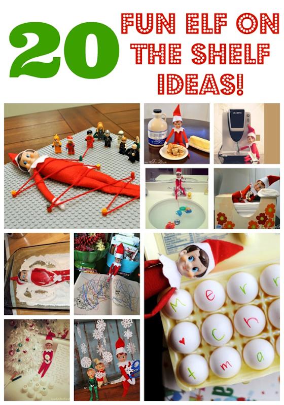 20 Fun Elf on the Shelf Ideas