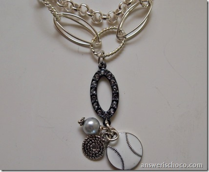 Softball Graduation Necklace