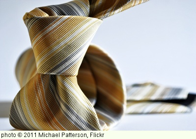 'Mens Yellow Stripe Necktie' photo (c) 2011, Michael Patterson - license: http://creativecommons.org/licenses/by-nd/2.0/