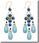 Blue Quartz Drop Earrings
