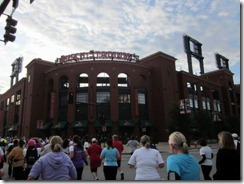 passing bush stadium during race