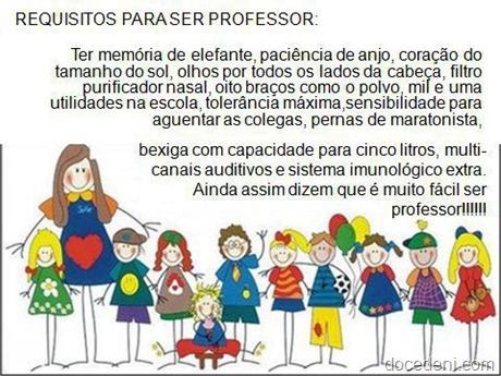 para ser professor