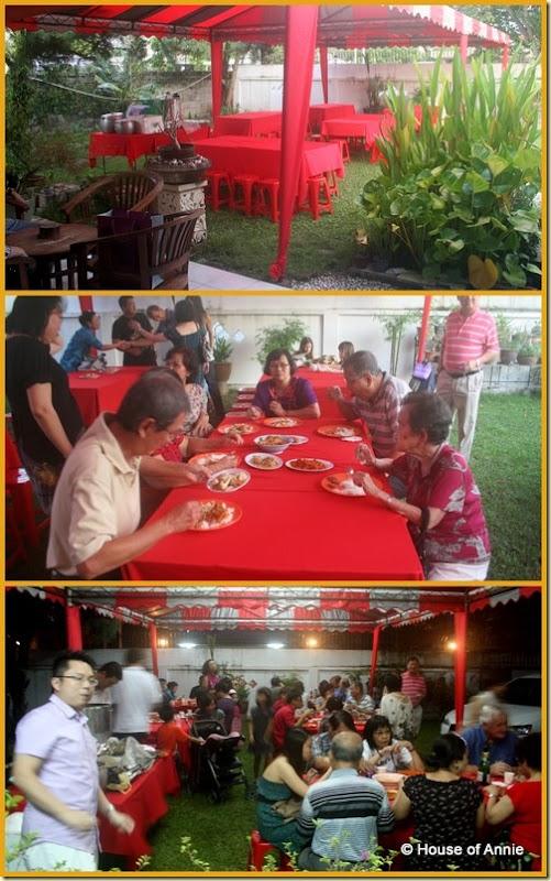 Penang Wedding Tea Ceremony - dinner