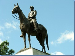 2562 Pennsylvania - Gettysburg, PA - Gettysburg National Military Park Auto Tour - Stop 5 - Virginia Memorial - General Robert E. Lee mounted on Traveller