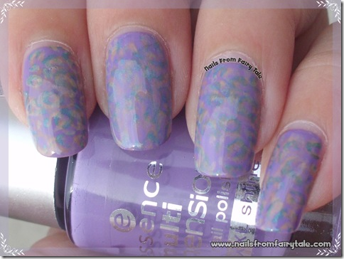 pastel multistamping leopard print 4