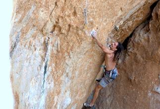 Gabriele Gorobey alla Grotta dei Santi