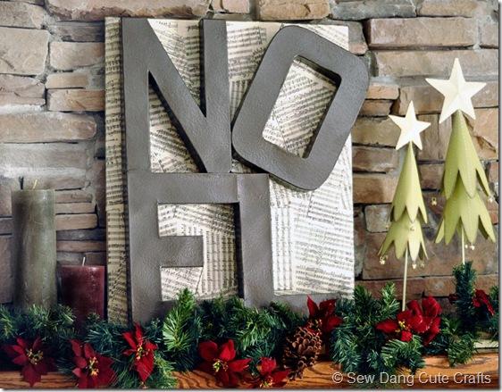 Noel Letters Sign