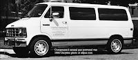 CNG-fueled Chrysler van, 1992, photo courtesy Allpar