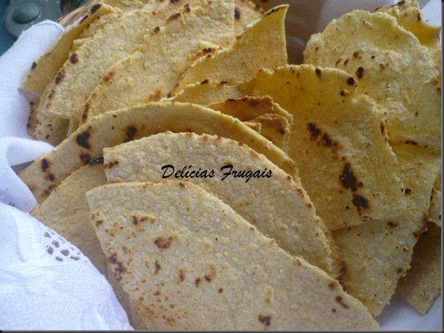 Tortillas com guacamole Delícias Frugais