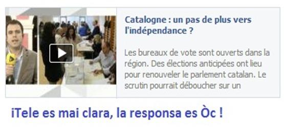 iTele Eleccions Catalonha