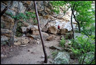 26 - Rock Garden Trail - Need to do a little rock scrambling