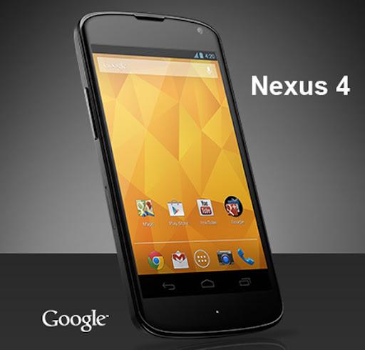O Google lança em 29/10/12 o Nexus 4 em parceria com a LG, com Android 4.2, processador Quad-Core de 1,5Ghz Snapdragon S4 Pro da Qualcomm e 2GB de RAM