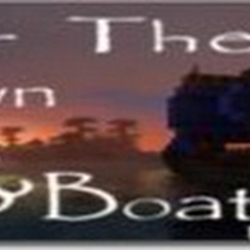 Minecraft 1.2.5 - Ships and Boats Mod (navi)