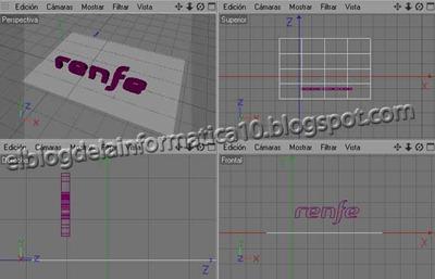 Convertir logo 2D a 3D: Añadir Efectos