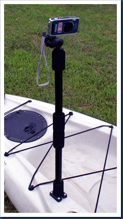 PanFish_Kayak_Camera_Pole_And_Mount