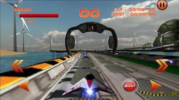 Screenshot of LevitOn Speed Racing Free