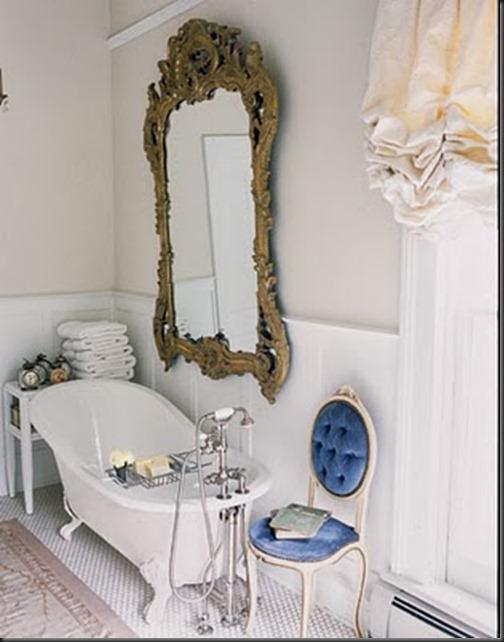 Decoracion Baño Romantico:Baños Romanticos