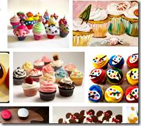 [artistic cupcakes]