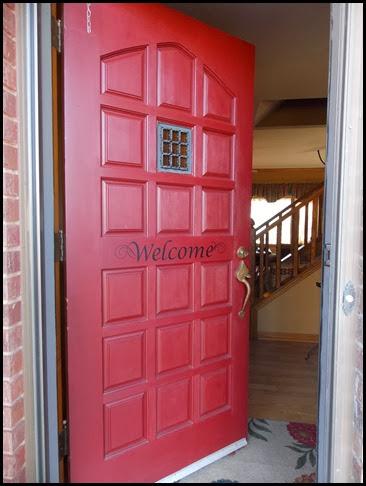 Front Door - Open (1)