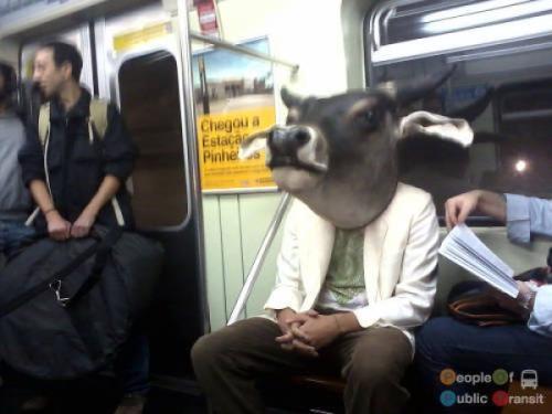 pessoas bizarras em metrô (9)