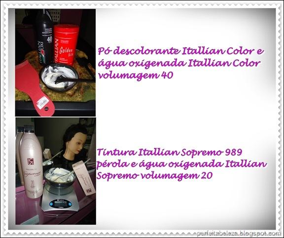 pó descolorante itallian color
