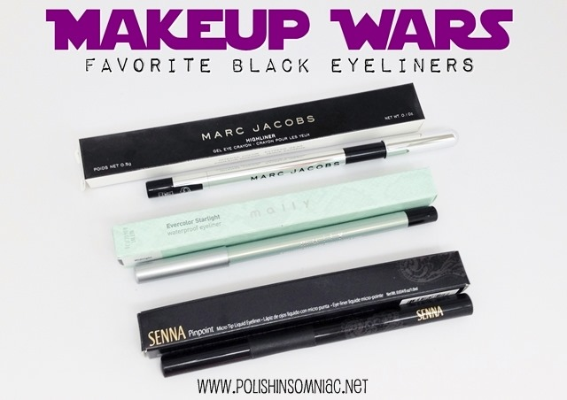 Makeup Wars - My Favorite Black Eyeliners
