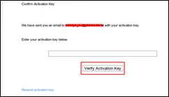 Activation Key