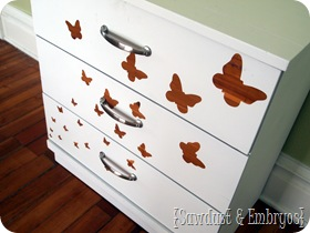 Butterfly Dresser {Sawdust and Embryos}