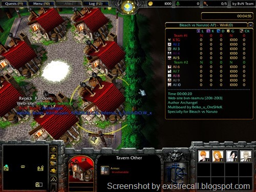 Bleach Vs Naruto v1.8c (With AI) Warcraft 3 Map