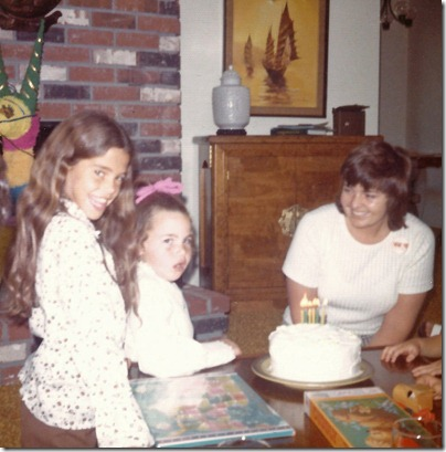 lisa & cathy circa 1975