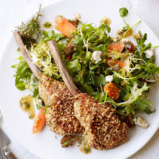 Hazelnut-Crusted Lamb Chops