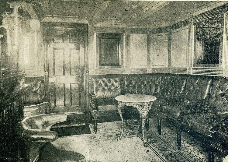 Vapor LEON XIII. Salon fumador. Foto de la revista LA NATURALEZA. AÑO 1894.jpg