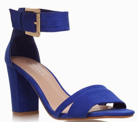 Kurt Geiger Cobalt blue sandals