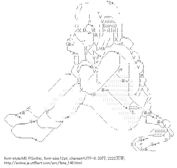 [AA]アストルフォ (フェイト)