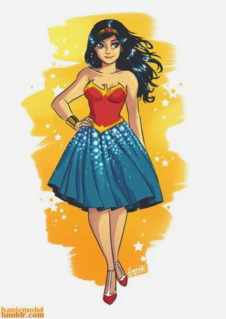Wonder Woman by Hanie Mohd