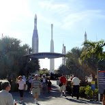 rocket garden in Cape Canaveral, Florida, United States