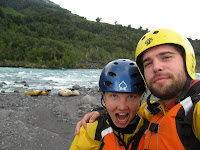 Rafting the Petrohue River