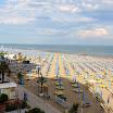 Vista della spiaggia dalle camere dell\'hotel