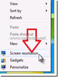 ต้งค่า 2 จอภาพใน windows 7